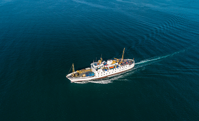 Aerial view - Scillonian III