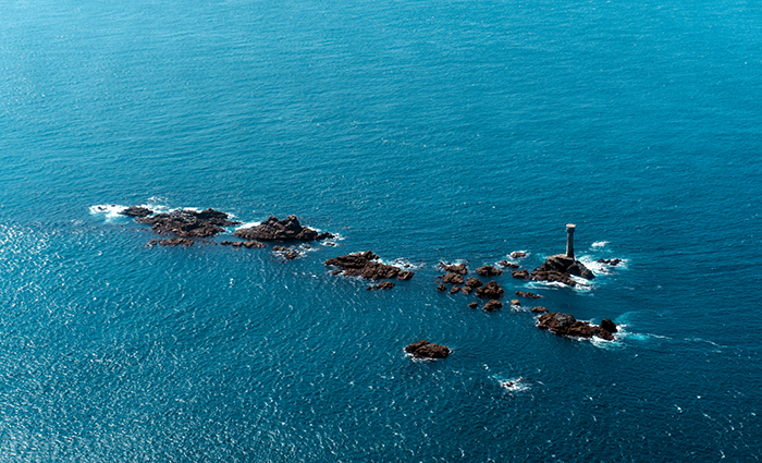 Longships Lighthouse - Skybus Route to the Isles of Scilly